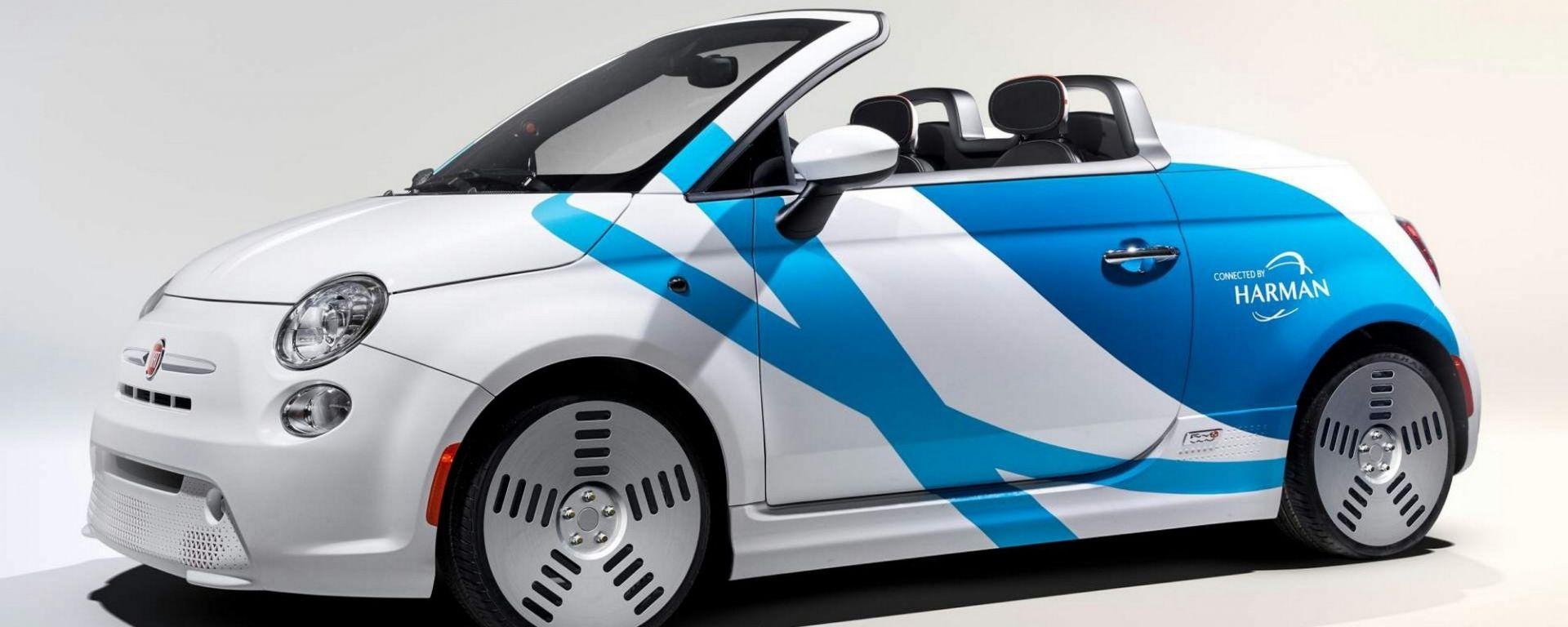 Fiat 500e: al CES 2019 la concept che legge nel pensiero