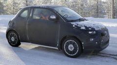 Fiat 500e: il 3/4 anteriore