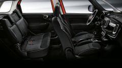 Fiat 500L City Cross: gli interni, il sedile