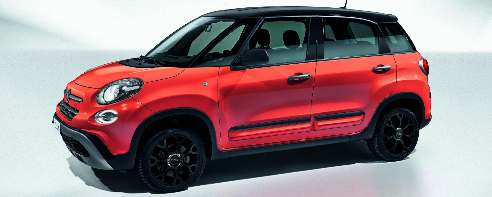 Fiat 500L City Cross: nuova versione per il mini suv cittadino