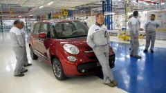 Fiat 500L, fermo produzione a febbraio 2020