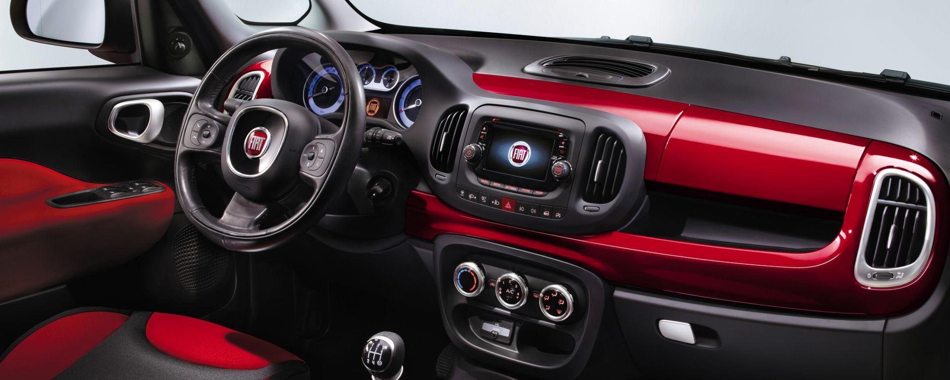 Anteprima Fiat 500l Gli Interni E Un Video Sul Design Motorbox