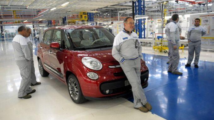 Fiat 500L, stop a produzione fino ad arrivo componenti ritardatarie