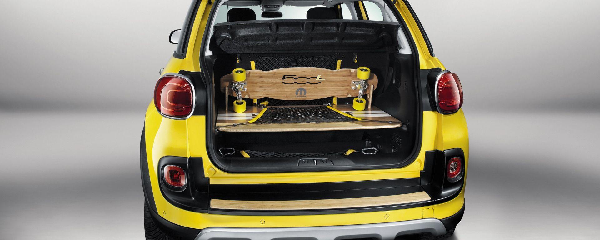 rétro pas cher pour réduction grand choix de 2019 Show car: Fiat 500L Trekking Street Surf - MotorBox