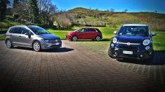 500L Trekking vs C4 Picasso vs Golf Sportsvan - Immagine: 1