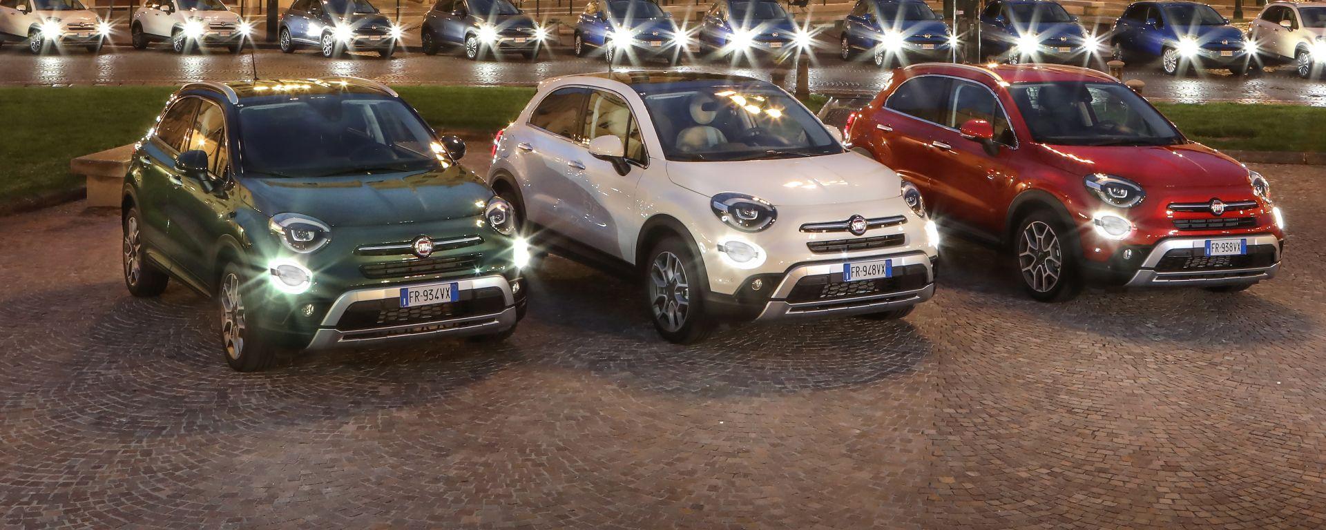 Fiat 500X 2021, nuova offerta allestimenti