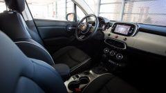 Fiat 500X Cross: la plancia