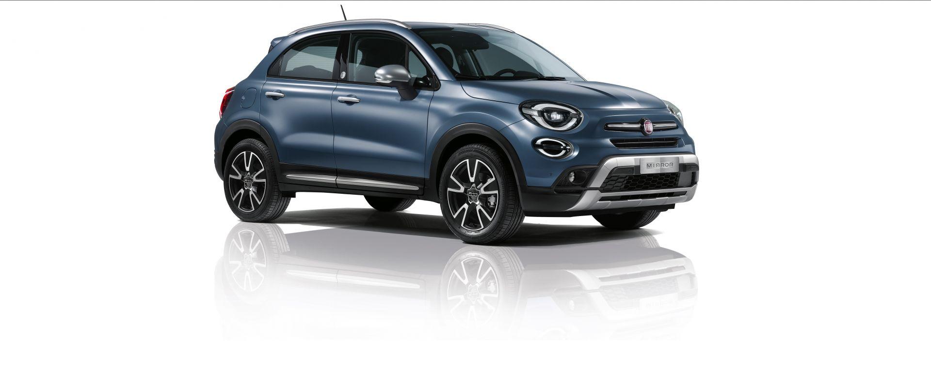 """Fiat 500X Cross Mirror: la serie speciale con  Uconnect 7"""" HD LIVE di serie"""