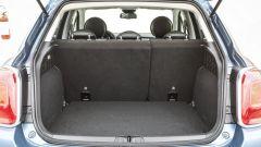 Fiat 500X: il bagagliaio