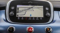 Fiat 500X: l'infotainment