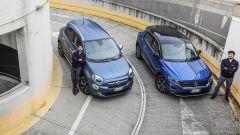 Fiat 500X Mirror vs Volkswagen T-Roc Style: sfida per il trono - Immagine: 1