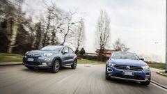 Fiat 500X Mirror vs Volkswagen T-Roc Style: sfida per il trono - Immagine: 72