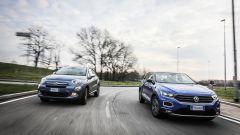 Fiat 500X Mirror vs Volkswagen T-Roc Style: sfida per il trono - Immagine: 73