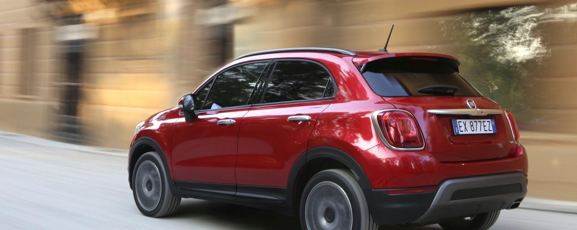 Fiat 500X, porte aperte il 24 e 25 gennaio