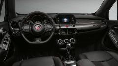 Fiat 500X Sport 2019, gli interni