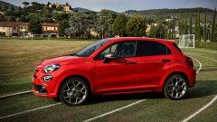 Fiat 500X Sport al Centro Tecnico Federale di Coverciano