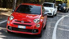 Fiat 500X Sport, colore Rosso Seduzione