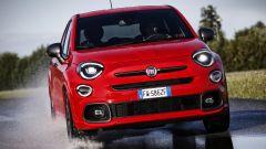 Fiat 500X Sport, il frontale