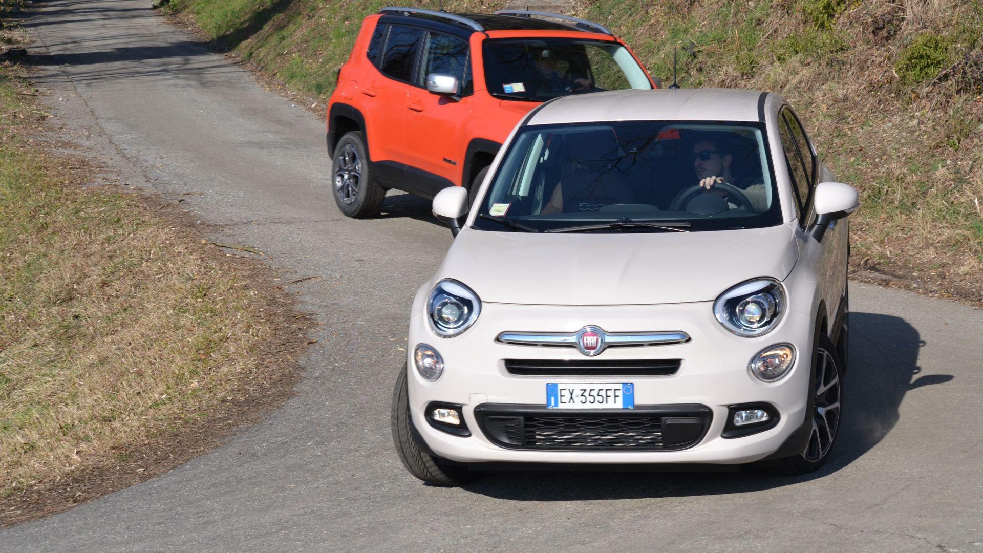 Cherokee Vs Grand Cherokee >> Video confronto: Fiat 500X vs Jeep Renegade vs Dacia Duster - MotorBox