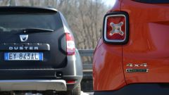 Fiat 500X vs Jeep Renegade vs Dacia Duster - Immagine: 12