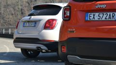 Fiat 500X vs Jeep Renegade vs Dacia Duster - Immagine: 14
