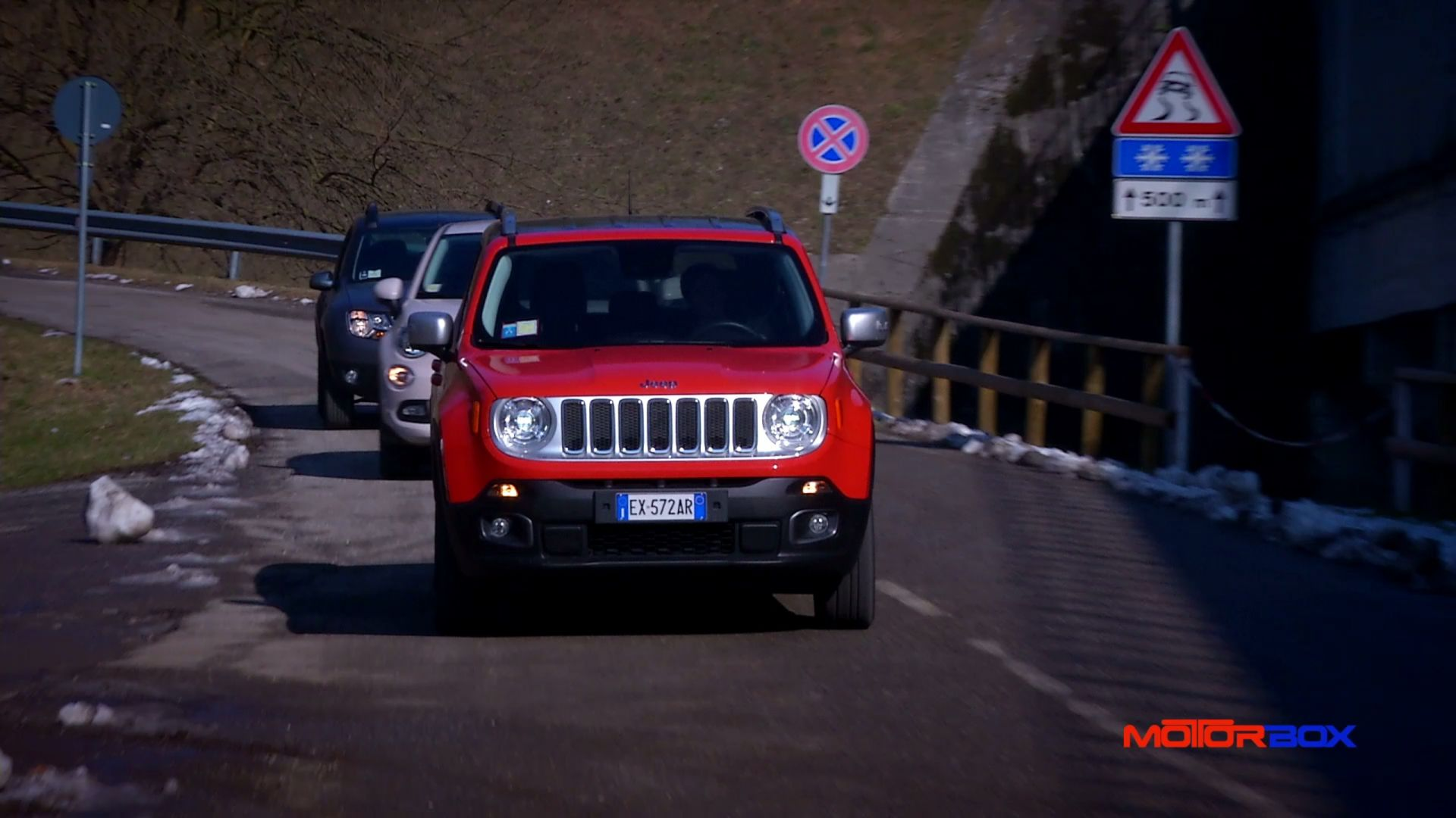 Jeep Renegade Vs Fiat 500x Video Confronto Dacia Duster Motorbox Gallery
