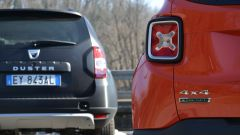 Fiat 500X vs Jeep Renegade vs Dacia Duster - Immagine: 4