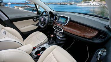 Fiat 500X Yacht Club Capri: interni