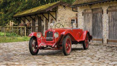 Fiat 509 S Zagato del 1927 all'asta ad Autoclassica 2021