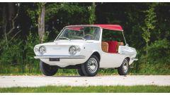 Fiat 850 Spiaggetta: capote e sedili in vimini. La dolce vita secondo Fiat