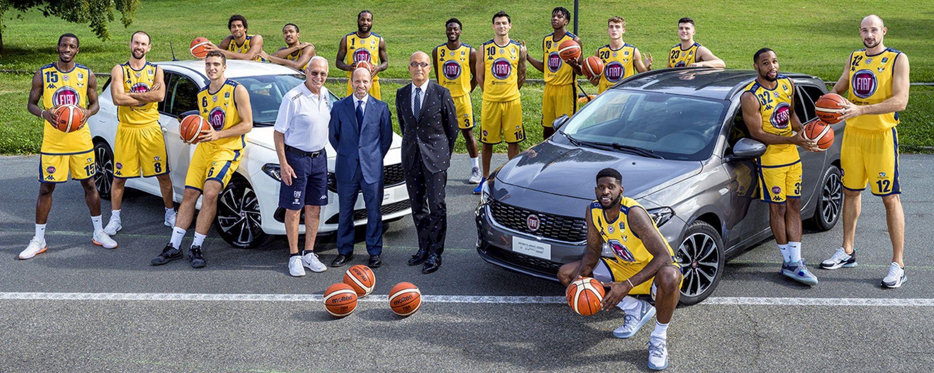 Fiat: a fianco della pallacanestro torinese di Larry Brown