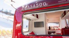 Fiat Casa 500: un viaggio tra le piste innevate con la 500 X  - Immagine: 20