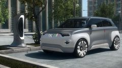 Fiat Centoventi full electric in ricarica