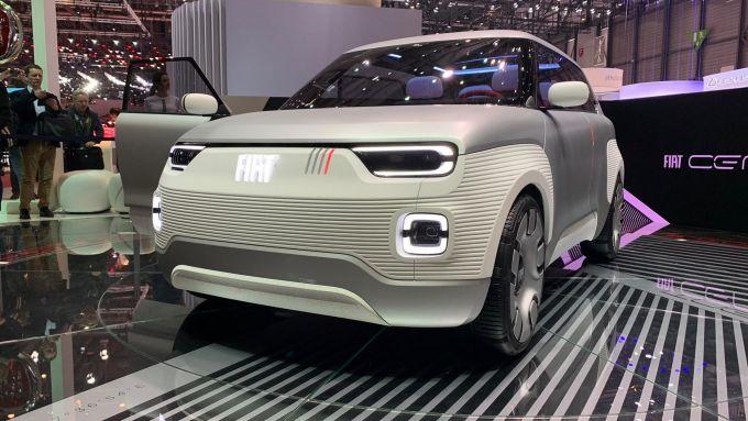 Fiat Concept Centoventi a Ginevra 2019