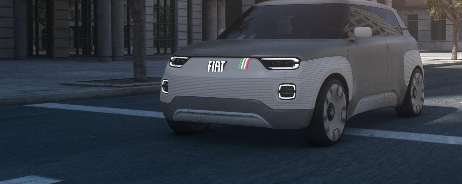 Fiat Concept Centoventi, l'elettrica low cost