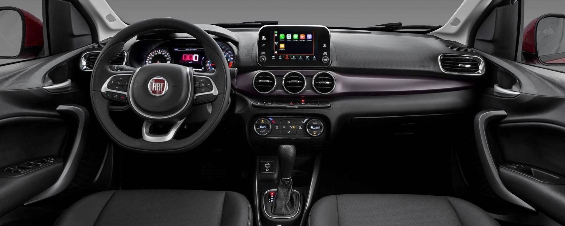 Fiat Cronos: gli interni della berlina per il Brasile