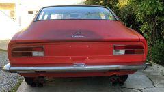 Fiat Dino: il posteriore
