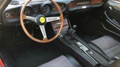 Fiat Dino: il volante e la plancia