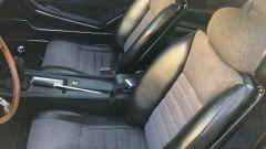 Fiat Dino: l'abitacolo anteriore