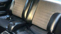 Fiat Dino: l'abitacolo posteriore