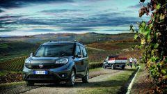Fiat Doblò Cargo: ha una gamma motorizzazioni Euro 6 completa: turbodiesel, benzina e benzina/metano.