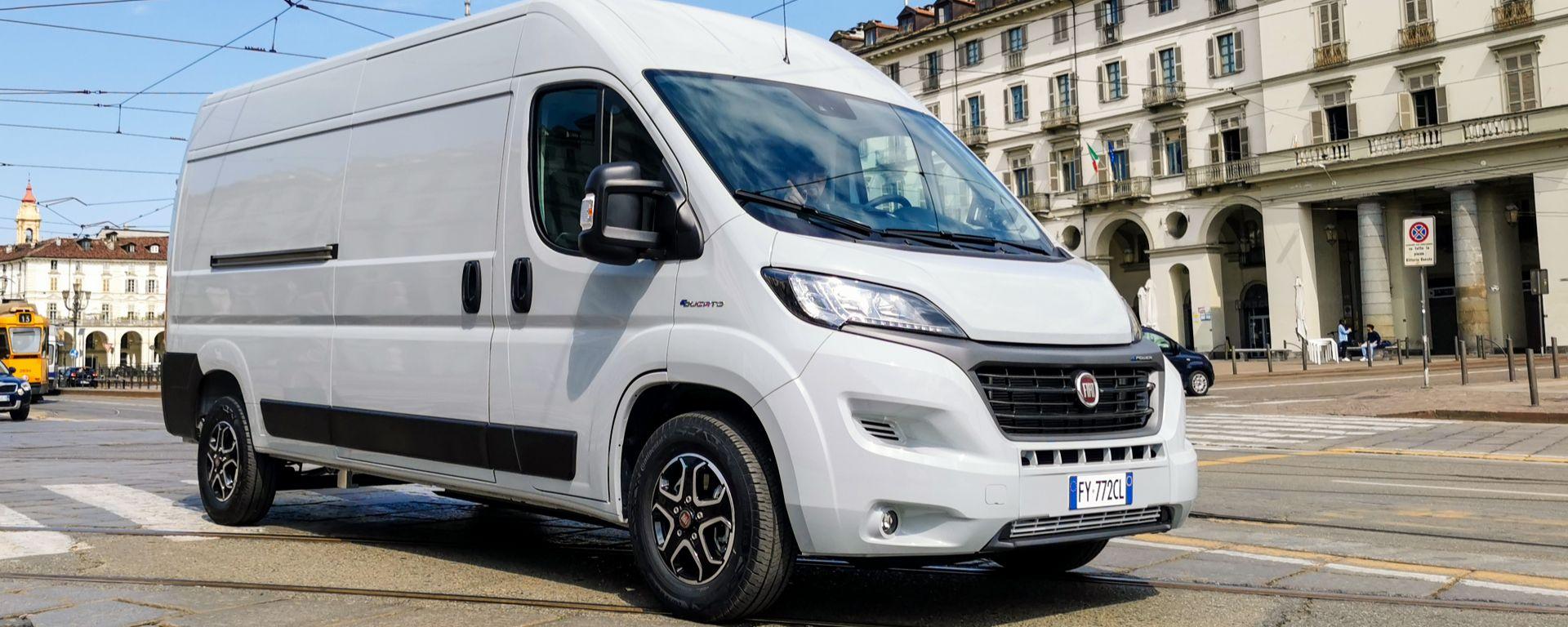 Fiat E-Ducato 2021: il veicolo commerciale diventa elettrico