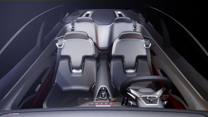 Fiat Fastback Concept, gli interni