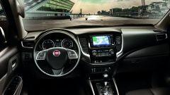 Fiat Fullback, abitacolo completo di ogni comfort