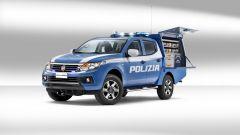 Fiat Fullback della Polizia Scientifica: doppia cabina