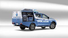 Fiat Fullback della Polizia Scientifica: motore turbodiesel in alluminio da 2,4 litri