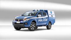 Fiat Fullback della Polizia Scientifica