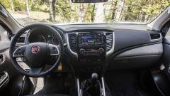 Fiat Fullback: gli interni sfoggiano lussi da berlina