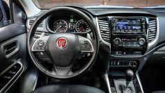 Fiat Fullback, gli interni