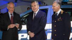 Fiat Fullback per Polizia Scientifica: Franco Gabrielli, Alfredo Altavilla e Luigi Carnevale